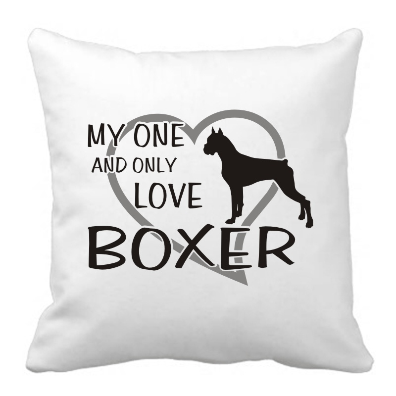 Polštář My one and only love Boxer