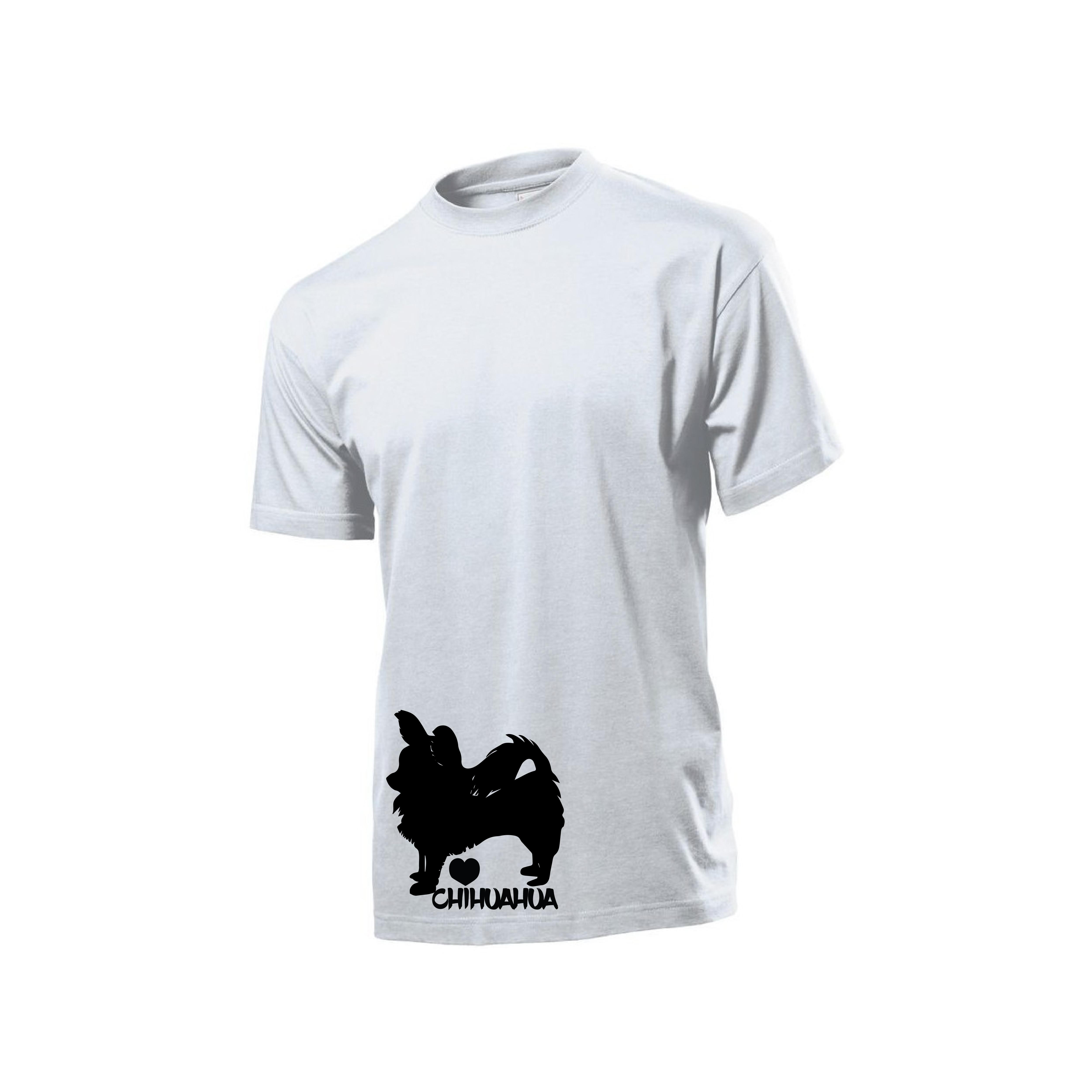 Tričko s potiskem Čivava dlouhosrstá 8526a7cb8c